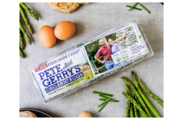 Thank you, Pete and Gerry's Organic Eggs