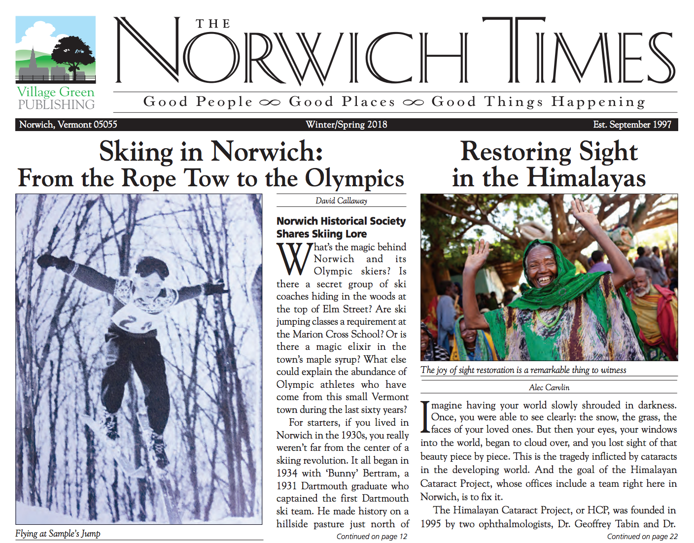The Norwich Times